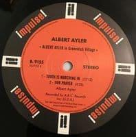 ALBERT AYLER In Greenwich Village Vinyl Record LP Impulse 2017